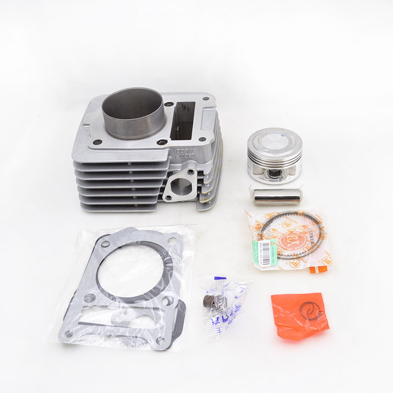 High Quality Motorcycle Cylinder Kit 57.4mm Bore For Yamaha YBR125 Modified 125cc Upgrade to 140cc Engine Spare Parts motorcycle accessories new right cylinder body motorcycle engine parts for lifan 140cc engine cylinder body engine parts gt 725