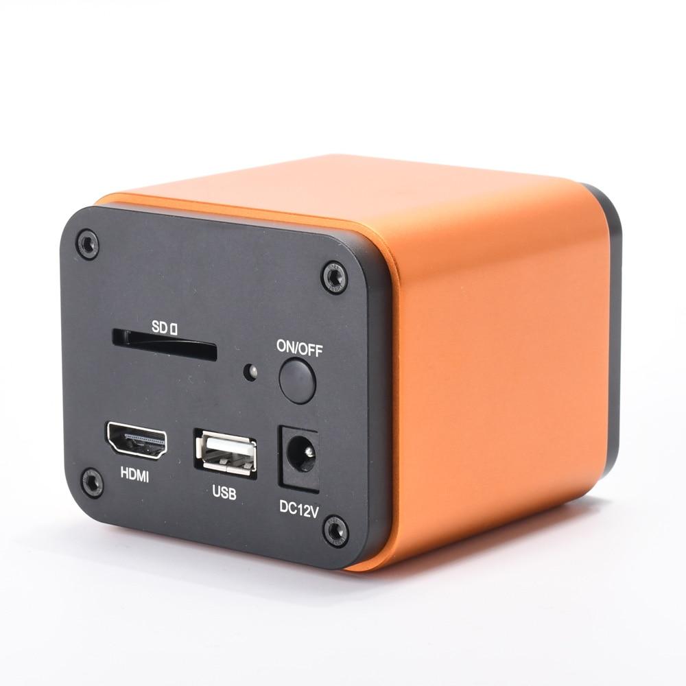 5MP IMX178 Auto-focus Microscópio HDMI WIFI Camera SONY Sensor 1080 P 60FPS Slot SD Câmera Digital Industrial para telefone Reparação