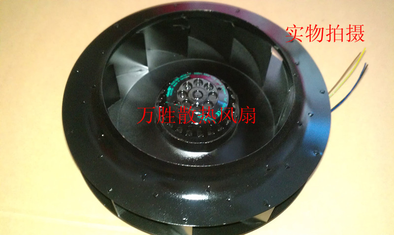 Free Shipping Via DHL Original EBM PAPST R2E280-AE52-17 230V 50HZ 1.0A  225W turbo centrifugal cooling fan