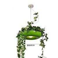 공장 펜 던 트 조명 diy 북유럽 하늘 정원 led 램프 꽃 냄비 교수형 램프 식당 식당 조명기구 홈 장식|인테리어 라이트|   -