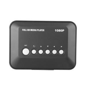 Image 4 - 1Sets 1080P TV Videos SD MMC RMVB MP3 HD USB HDMI Multi TV medios vídeos jugador caja de alta calidad