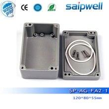 2015 New Saip aluminium electronic enclosure,  ip65 aluminium enclosure SP-AG-FA2 -1(120*80*55mm) with 4 screws