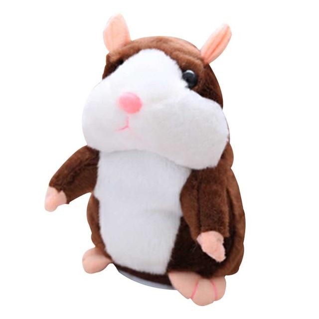 Talking Hamster Plush Toy Sound Record  Children Gift