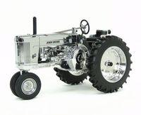 Knl хобби J Deere 60 с серебряным покрытием Металл Трактор Сельскохозяйственная модель автомобиля ограниченной юбилейное издание 1:16
