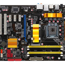 Kostenloser versand original motherboard für für ASUS P5Q Turbo DDR2 LGA 775 USB 2,0 boards 16GB P45 Desktop mother