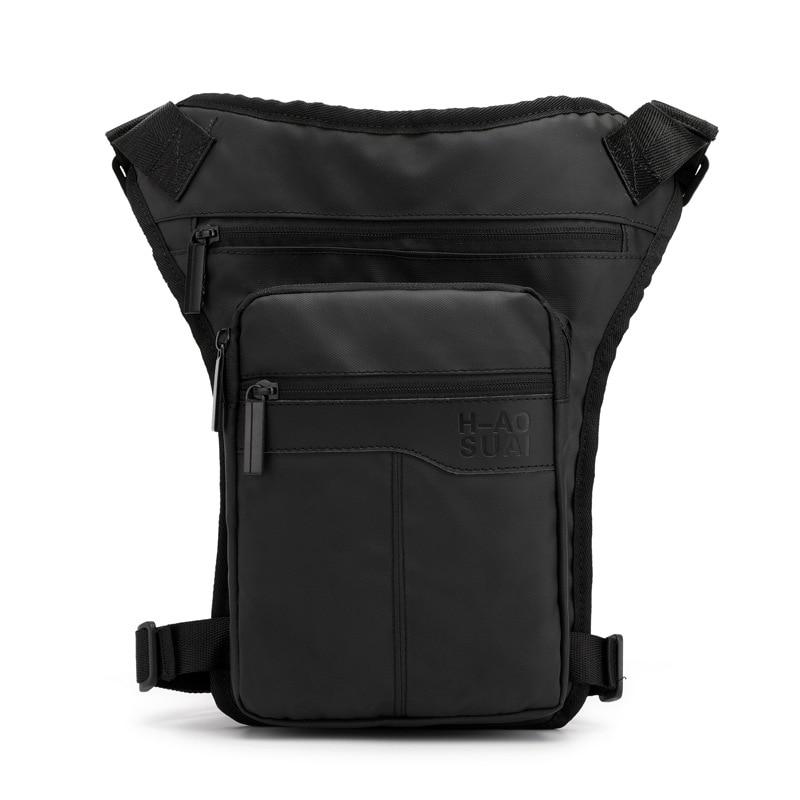 High Quality Motorcycle Hip Belt Waist Fanny Pack Riding Travel Shoulder Messenger Cross Body Bags Nylon Men Thigh Drop Leg Bag