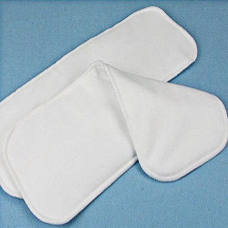 1PC New Reusable and Easy Use, Soft and Breathable Baby Modern Cloth Diaper Nappy Liners Inserts