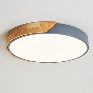 Image 2 - Modern  Bedroom Led Ceiling  Light Room Lights Lighting Fixture Ultrathin Led Ceiling Lamps For Living Room