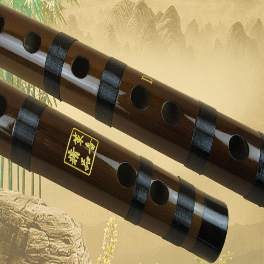 Bamboo flauta Dizi glazbeni instrumenti flauta transverzalna C D E F - Glazbeni instrumenti - Foto 4