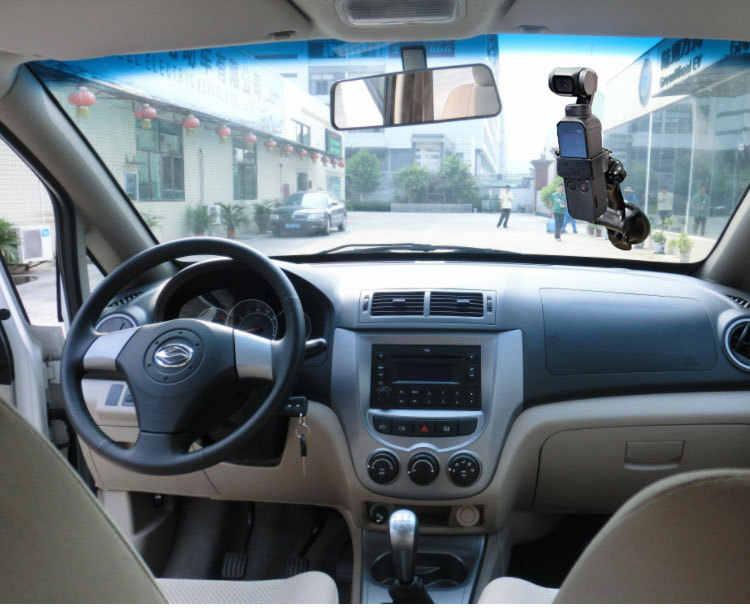Автомобильный держатель для присоска для стекла для DJI OSMO Карманная камера аксессуары регулируемый, для окон крепление для стекла кронштейн адаптер настольный держатель