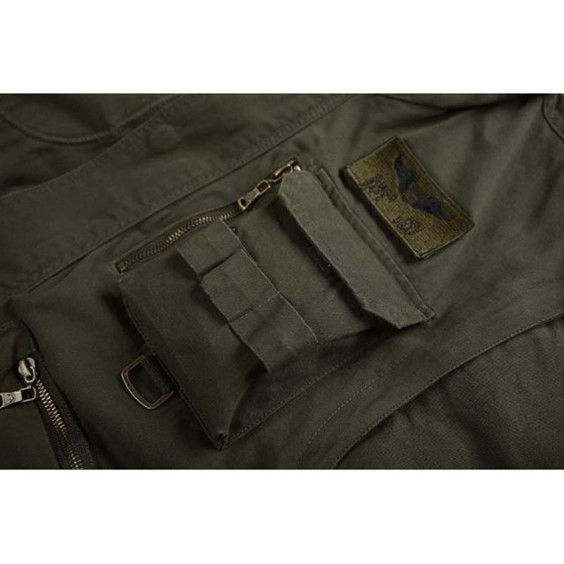 Nouveau militaire hommes 101 vol vestes à capuche amovible manches mâle décontracté veste manteau hommes marque outillage veste vêtements 4XL BF657 - 4