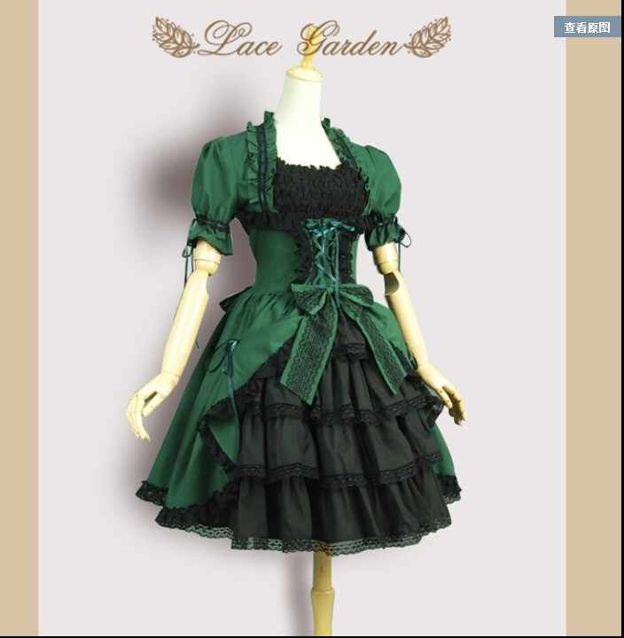 fba3860e1d36b Detail Feedback Questions about Gothic Lolita Palace Woman ...