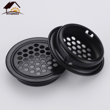Ventilation-Cover Vents Flat Cabinet Myhomera 6pcs Wardrobe Louver Mesh-Hole Stainless-Steel