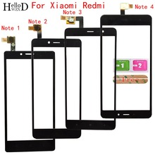 Mobile Touch Screen Glas Für Xiaomi Redmi Hinweis 1 Hinweis 2 Hinweis 3 Hinweis 4 5A Touchscreen Objektiv Sensor Touch screen Digitizer Panel