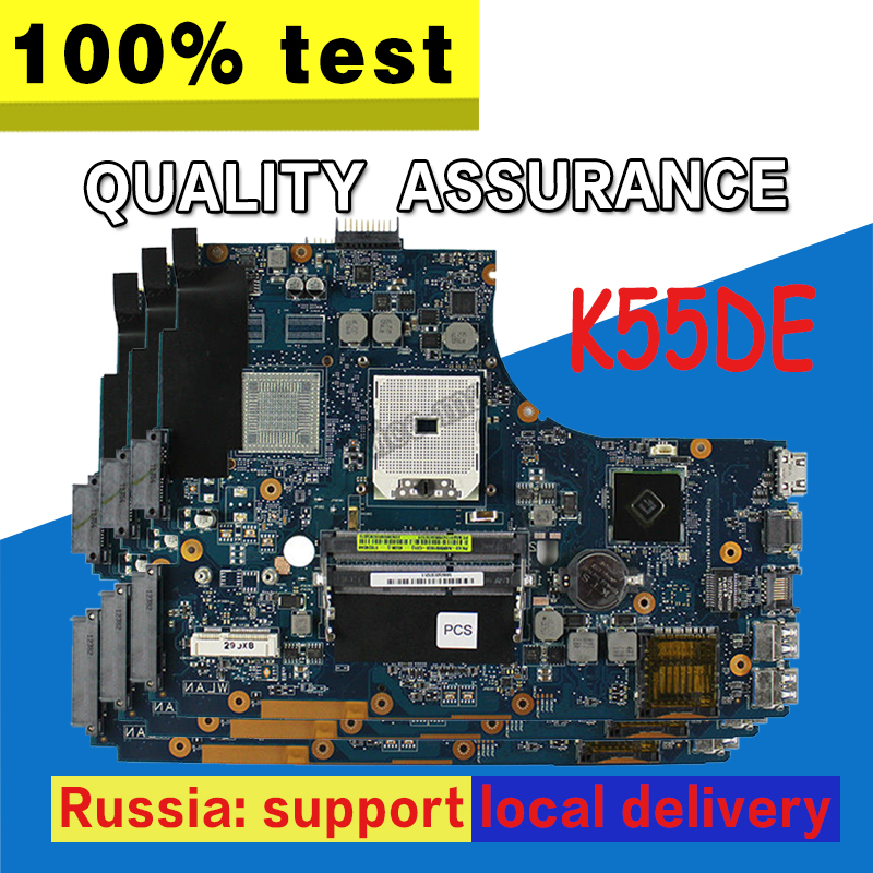 K55DE Motherboard REV 2.0 For ASUS K55DE K55dR K55D K55N Laptop motherboard K55DE Mainboard K55DE Motherboard test 100% OK universal aluminum alloy table flat bench vise drill press vise small vise for woodworking diy tool milling machine
