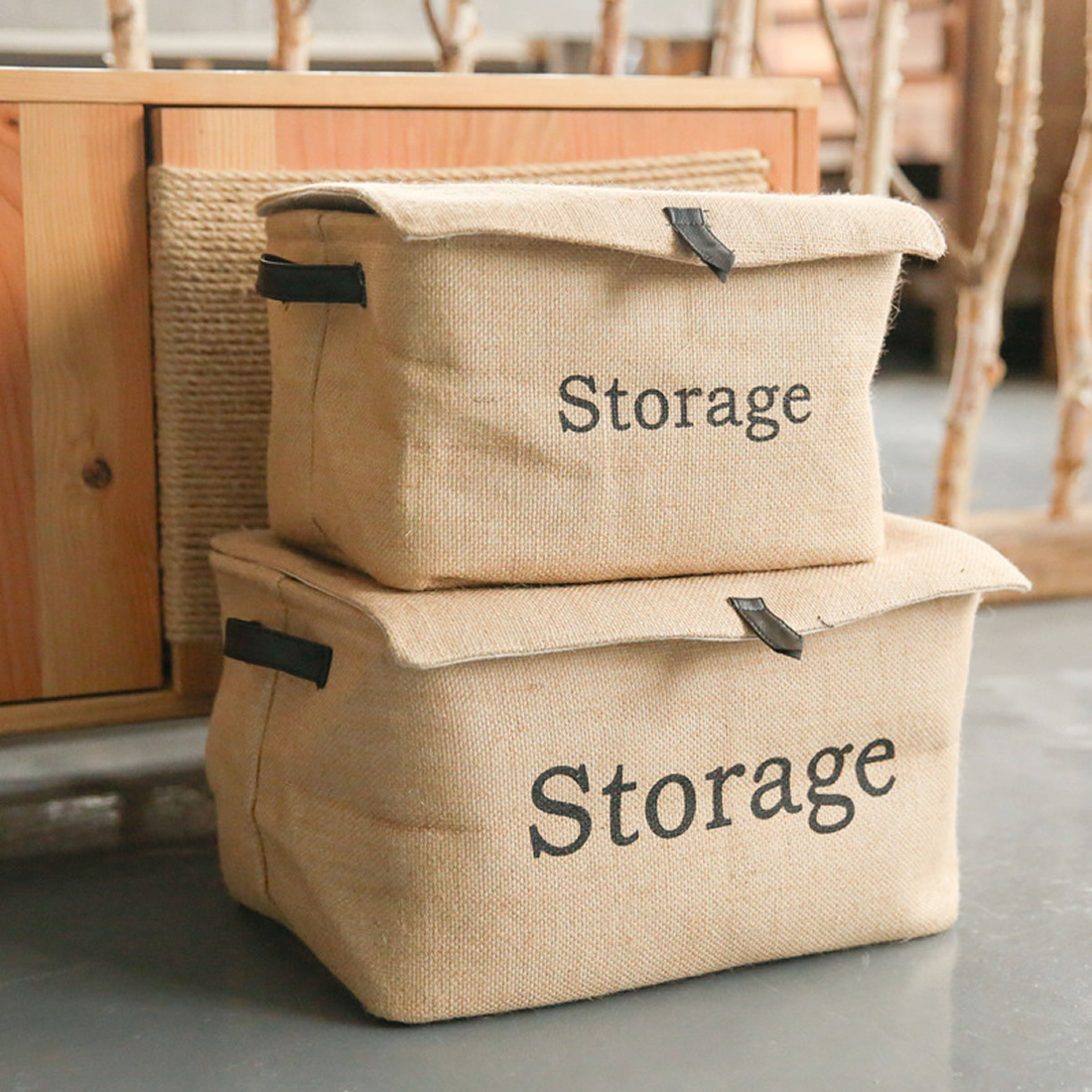 1pcs Cotton Fabric Storage Baskets Creative Clothing Toys Basket Debris Finishing Baskets Home Clothes Storage Organization
