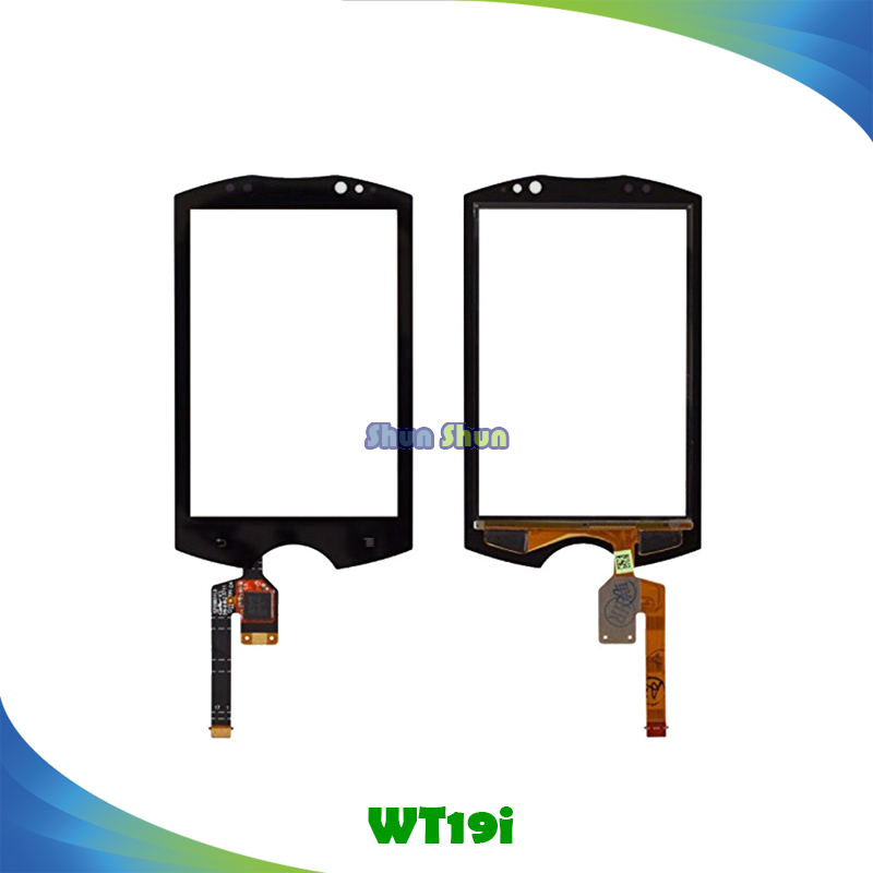 3.2 WT19i Touch Panel for Sony WT19 WT19a WT19i Touch Screen Digitizer Sensor Front Glass Lens Black White Mobile Phone Parts