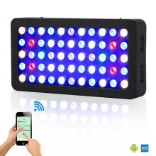 WIFI Controlled US/DE/AU Stock 100% high quality Wholesale 165W Led Aquarium Lights for Coral Reef  Benthon tank lighting
