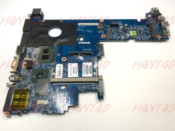 цена на for hp elitebook 2540p laptop motherboard 629032-001 ddr3 la-5251p Free Shipping 100% test ok