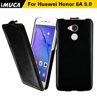 2014 New IMUCA Original Brand New PU Leather Case For Huawei Honor 6 Glory 6 Vertical