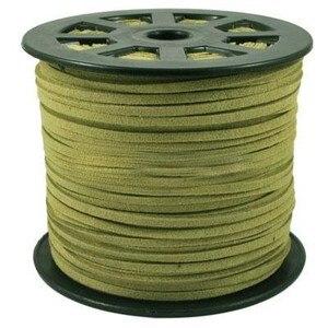 Image 2 - 100 quintal/rolo 4mm/5mm coreano couro falso camurça laço corda corda fio diy pulseira colar descobertas diy miçangas