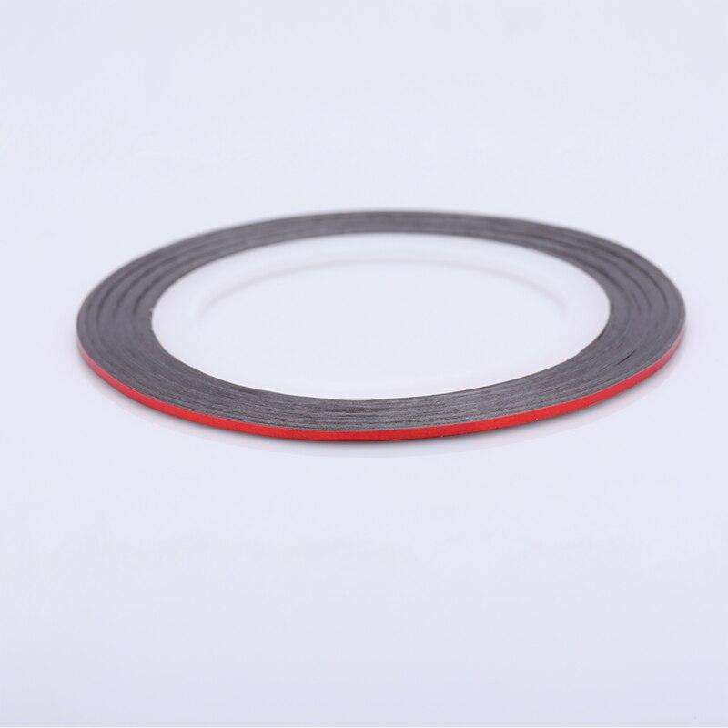 2 мм матовый блеск для ногтей, Чередование ленты линия разноцветные, для ногтей инструмент для укладки волос Стикеры наклейка DIY украшения для ногтей - Цвет: 10