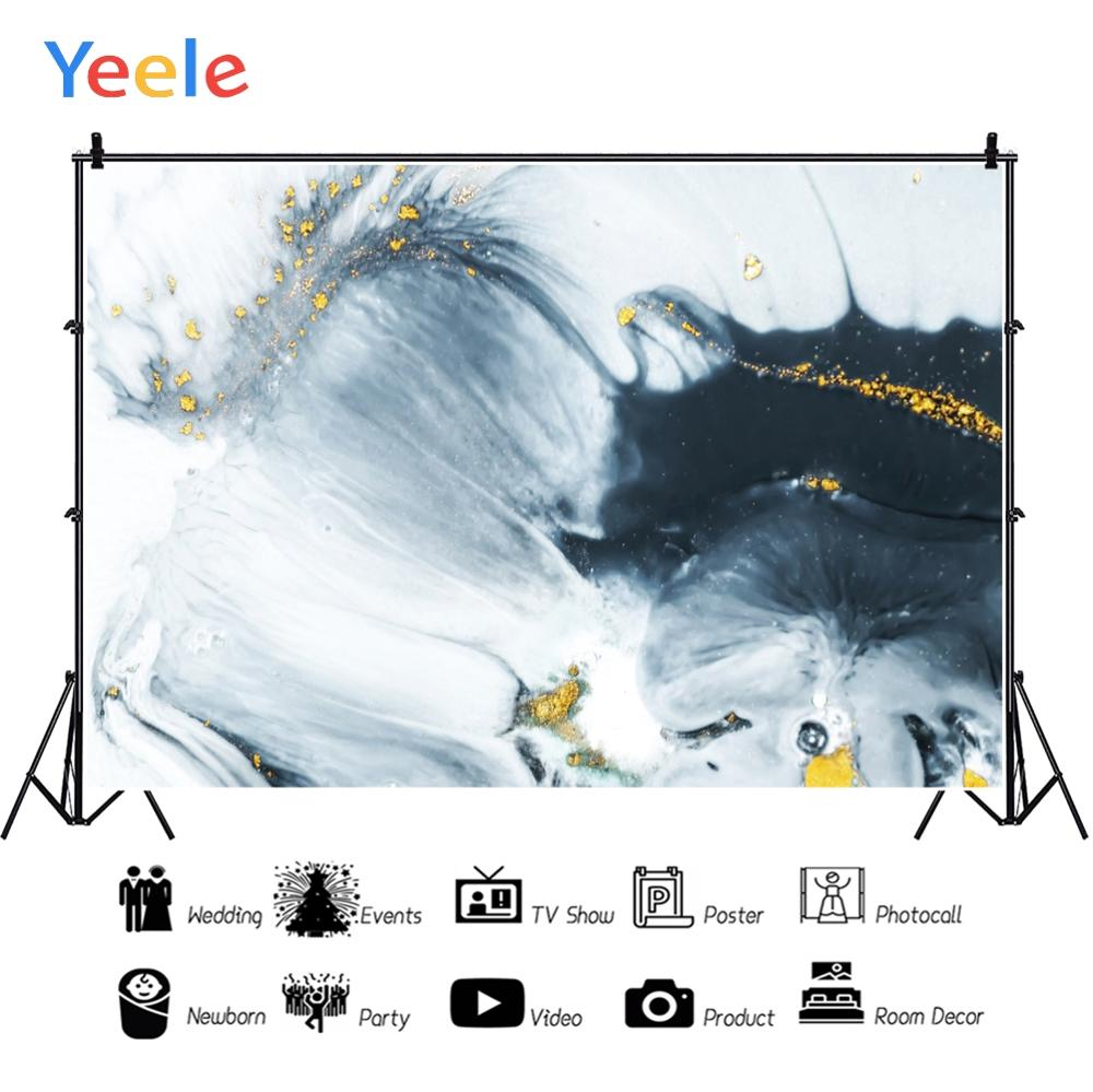 Yeele Wallpaper Ink Abstract painting Room Decor Photography Backdrops Personalized Photographic Backgrounds For Photo Studio in Background from Consumer Electronics