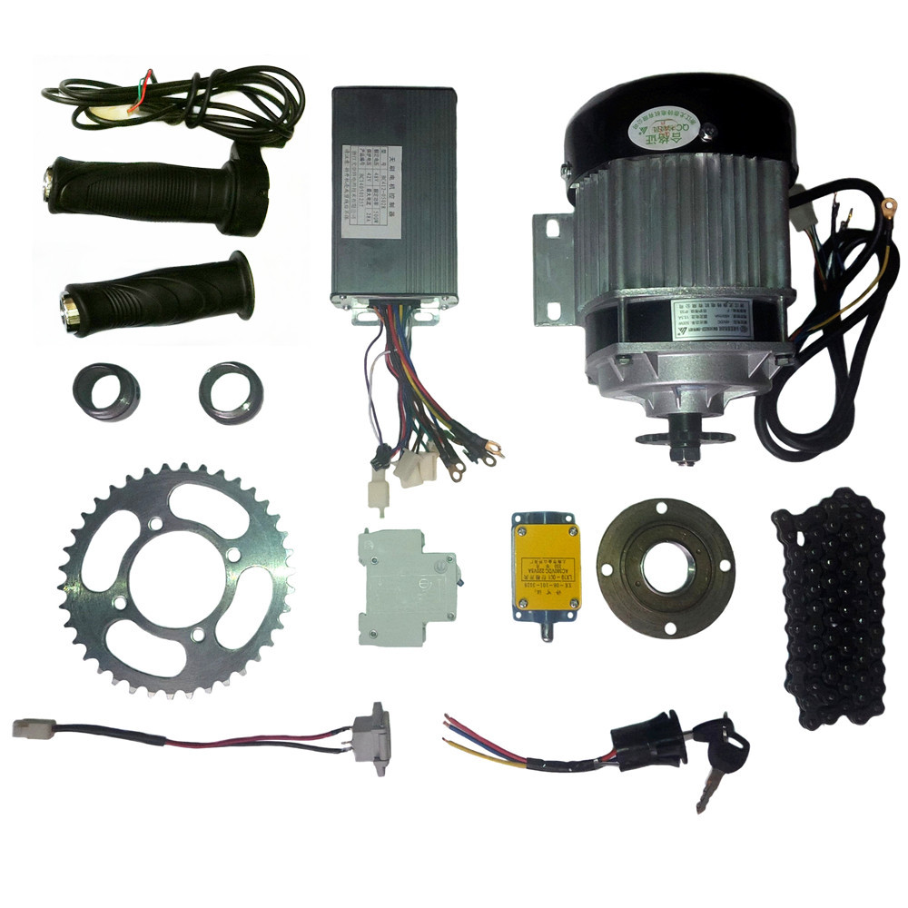 Bm1418 500w48v Dc Brushless Bldc Motor Kit Electric Tricycle Power Wiring In Addition Car Conversion Kits 48v 350w Bicycle Trike Diy E