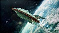 Futurama Space Poster Canvas Print 50x75cm Free Shipping
