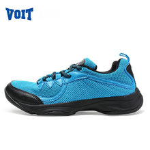 VOIT Lady Summer Outdoor Running shoes Super Light Mesh Breathable Sneakers Wavy Grip Non-slip Rubber Sport Run Shoes 51W6423