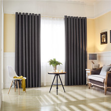 CITYINCITY Jacquard Faux linen Darpes Modern Korea And Japan Curtains For Bedroom And Livingroom Window  Rideaux Customized