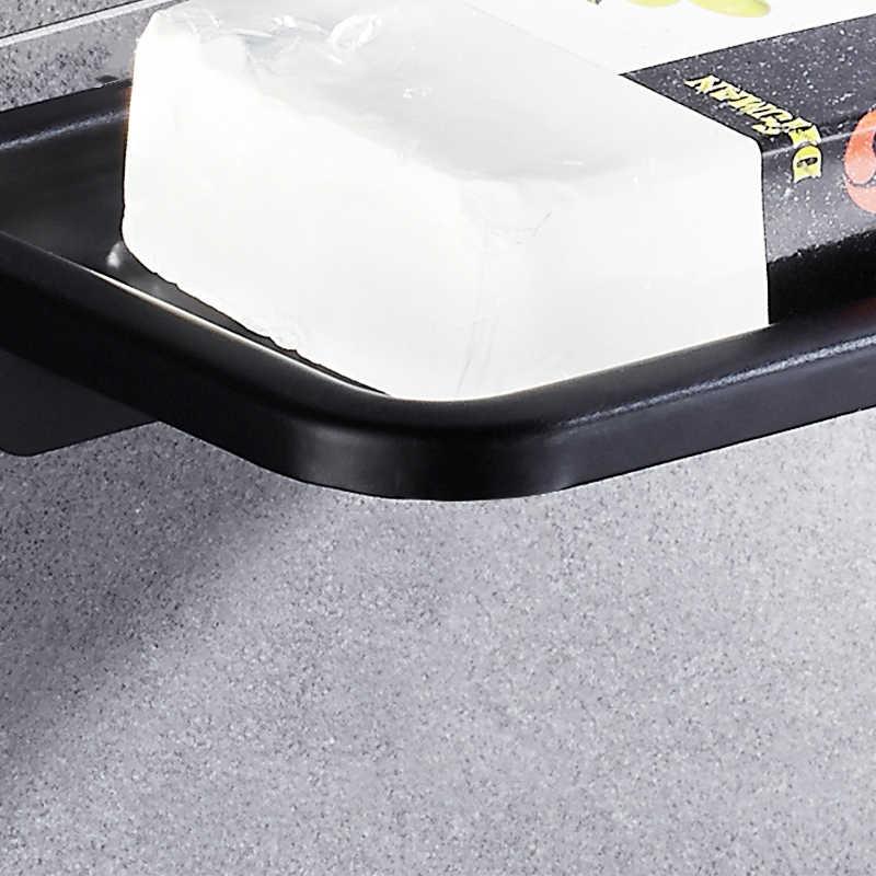 Paznokci darmowe silne ssanie mydelniczka płyta łazienka mydelniczka mydelniczka prysznicowa uchwyt brodzik akcesoria łazienkowe