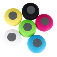 EDAL Waterproof Wireless Colorful Bluetooth Handsfree Mic Suction Speaker Shower Car Mic