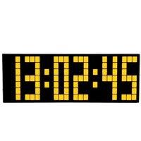 Digital Large Digit Led Snooze For Bedroom Alarm Clock Wall Clock Calendar Backlight Weather Clock