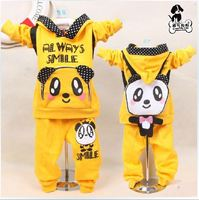 1PC Spring And Paragraph 2013 New Panda Backpack Korean Boy Girl Child Sport Suit Baby Free