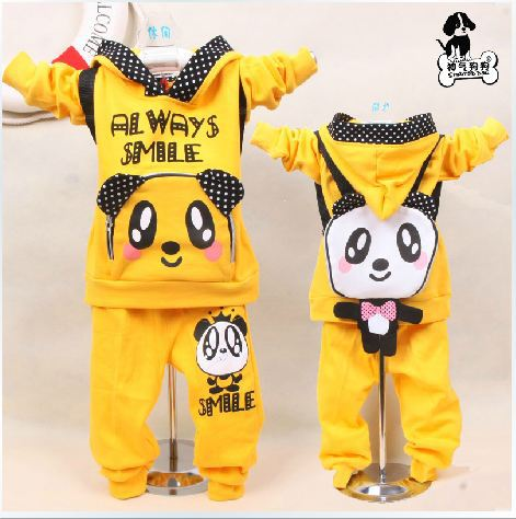 1PC spring and paragraph 2013 new panda backpack Korean boy girl child sport suit baby Free Shipping in stock girl child betrothal and human capital formation in ghana saboba