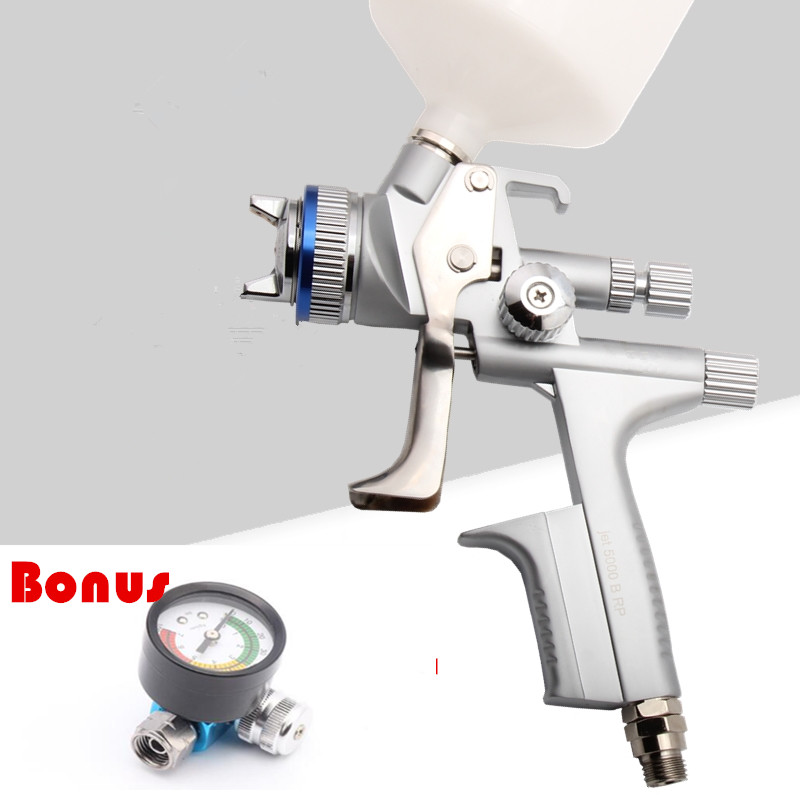 Wholesale and retail Jet 5000B air spray gun  Gravity spray gun with 1.3mm nozzle RP pneumatic spray gun car spray paint gun wholesale sandblasting gun feeding nozzle pneumatic spray mortar exterior wall decoration of building latex paint spray paint th