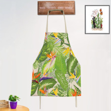 Cooking Plants Printed Aprons