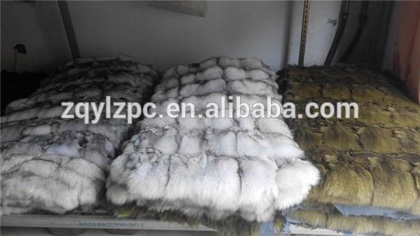 Wholesale 100% Natural Real Fox Skin Plate