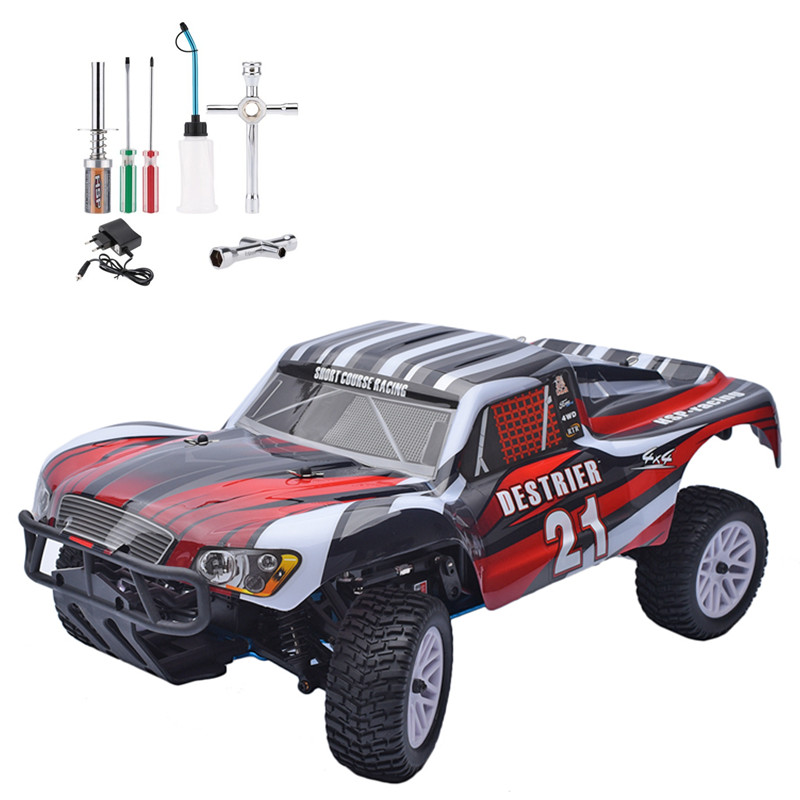 HSP Rc Car 1/10 Nitro Gas Power Destrier Short Course Rally Monster Truck 94155 High Speed Hobby Remote Control Car jetem шезлонг relax jetem field