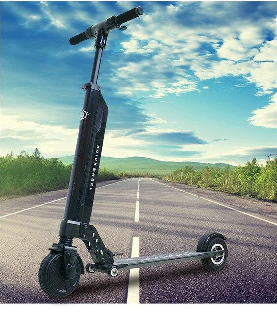 Новинка 2017 года оригинальный fastwheel F0 электрический скутер два колеса Складная Смарт скейтборд Ховерборд 30 км/ч gyroscooter с APP
