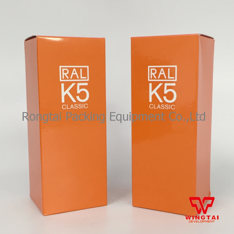 Original Germany RAL K5 Shade Card For Paint ral k7 paint color page chip card brochure