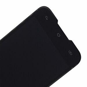Image 4 - Original Para Blackview BV5000 componente LCD screen Display Toque digitador Assembléia Para Blackview BV5000 substituição de Peças de Telefone