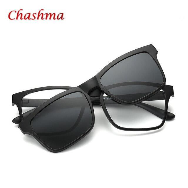 f83e0d56c TR90 Óculos Masculinos Enquadrar Full Frame de Armação Homens Ímã Cinto  Clipe De Miopia Polarizados Sol. TR90 Male Eyeglasses Frame Full Frame  Glasses Frame ...