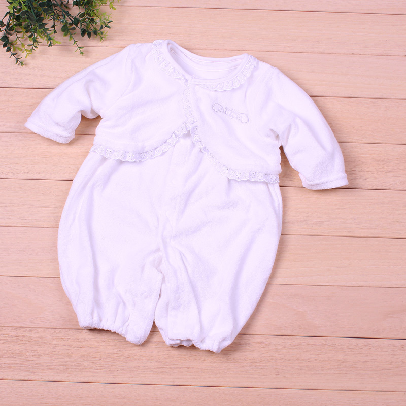 2PCS Baby Girls Rompers Autumn Newborn Romper Cute Princess Coveralls Hot Vest Sets Spring Sleepwear Baby Jumpsuit Long Sleeve new baby rompers long sleeve coveralls cute v neck baby clothes solid cotton infant romper spring autumn boys girls jumpsuits