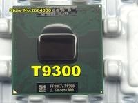 Original Intel CPU Laptop Core 2 Duo T9300 CPU 6M Cache 2 5GHz 800 Dual Core