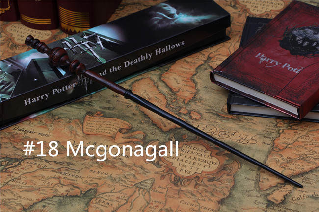 New Top Quality Free shipping Wand with box childrens gifts Toys Minerva McGonagall Magic wand