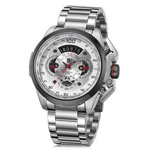 Image 5 - T5 relógios de pulso, marca luxo homens em ouro preto relógios, quartzo militar esportes relógios de pulso, cronógrafo à prova d água homens relógios, esportes relógios de pulso