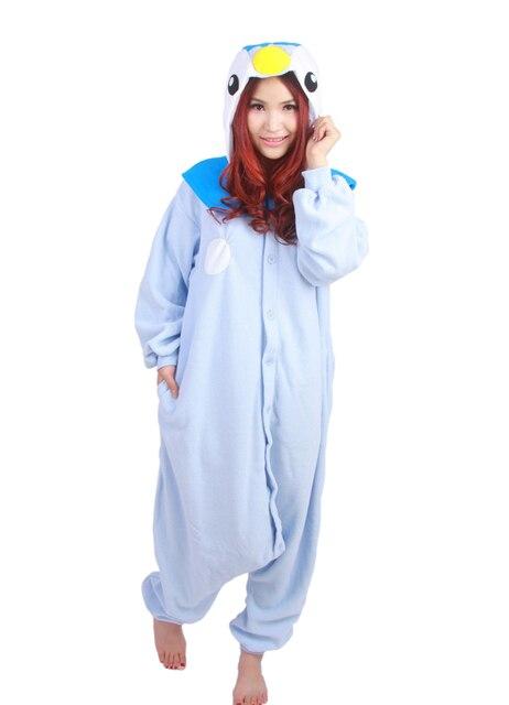 Anime Pokemon pingüino azul Piplup Cosplay con capucha pijama Sudadera con  capucha adultos mujeres hombres Unisex 22009ef8402e