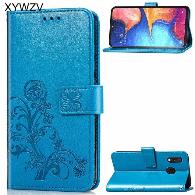 For Samsung Galaxy A20E Case Soft Silicone Filp Wallet Shockproof Phone Bag Case Card Holder Fundas Back Cover For Samsung A20e